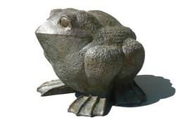 PRADIER-Grenouille--bronze