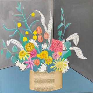 Bouquet floreale filosofico n 10