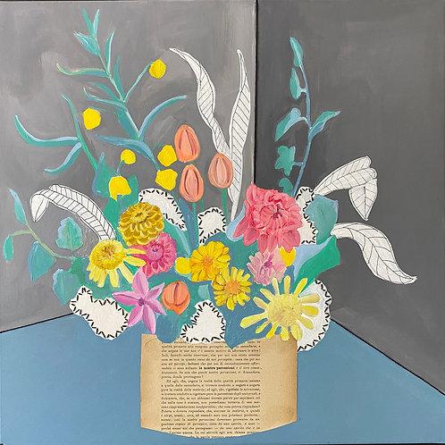 Bouquet floreale filosofico n .10