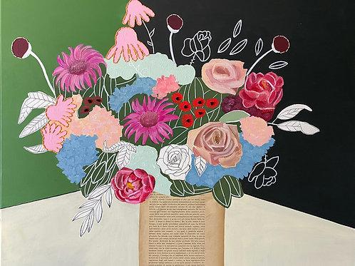 Bouquet floreale filosofico n .9