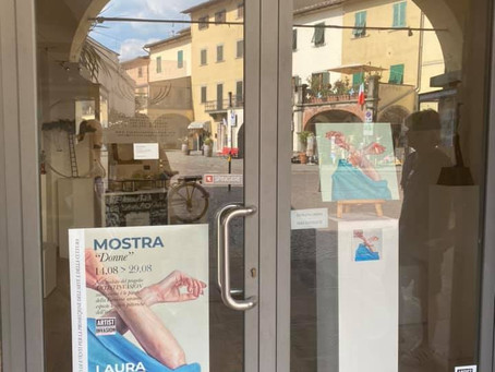 """Donne"" mostra personale a Greve in Chianti"