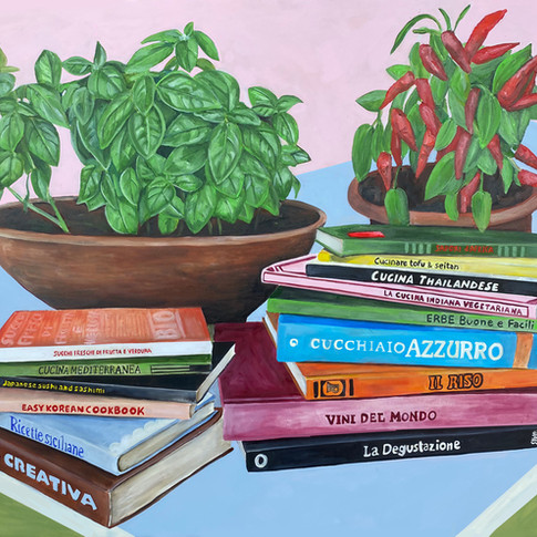 i miei libri di cucina