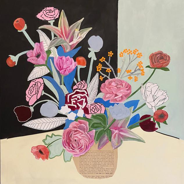bouquet floreale filosofico n. 4