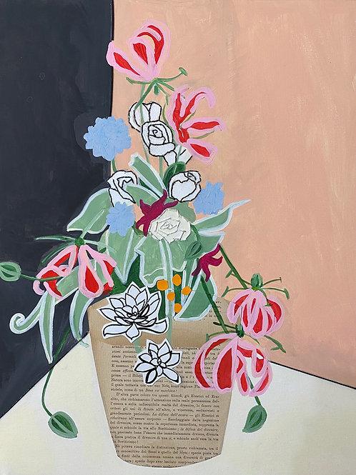 bouquet floreale filosofico n .1