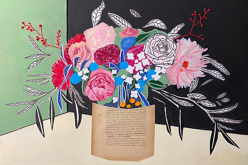 bouquet floreale filosofico n .3