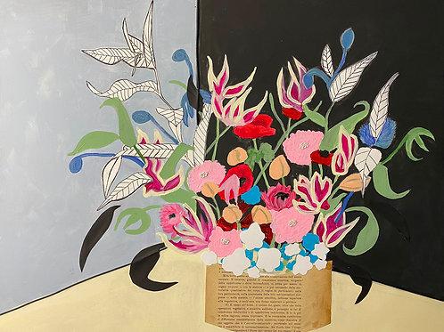 bouquet floreale filosofico n .2