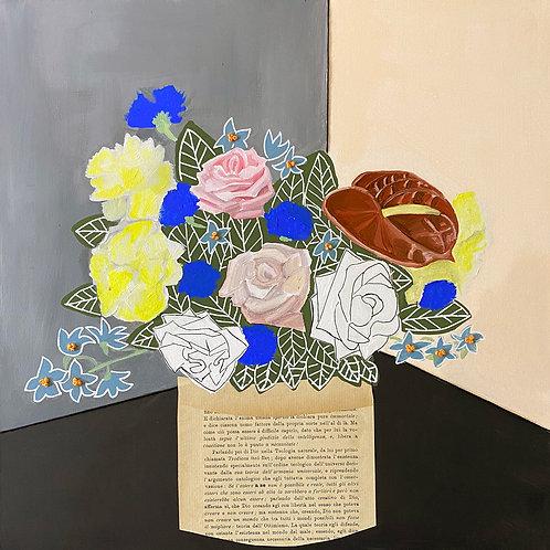 Bouquet floreale filosofico n .8