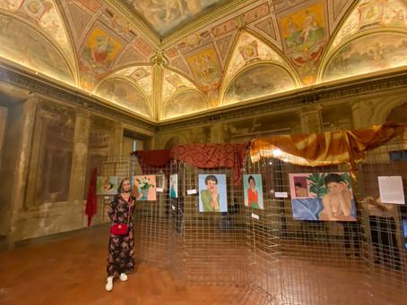 """""""Oltre il sé"""", mostra personale a Villa Bottini, Lucca."""