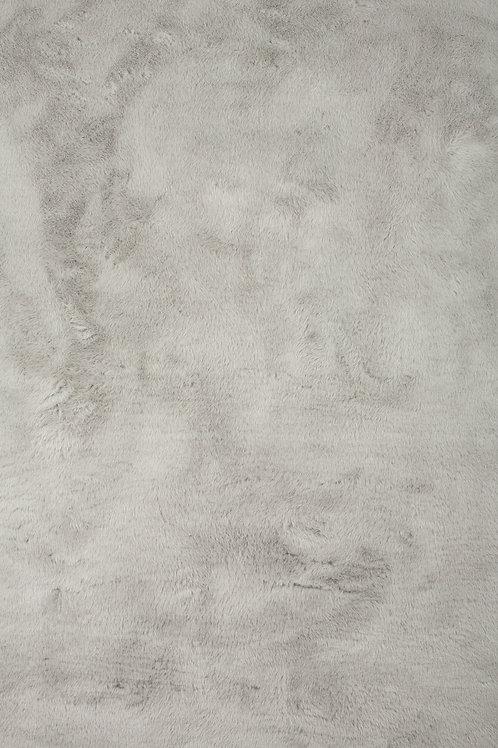 Tapis rectangle gris clair