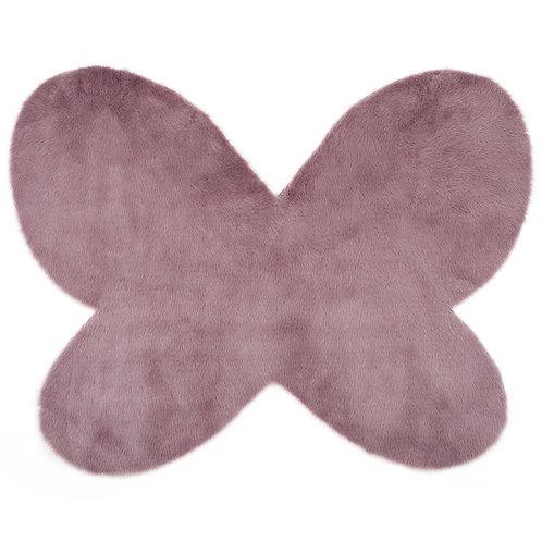 Papillon mauve grisé - Maxi Douceur