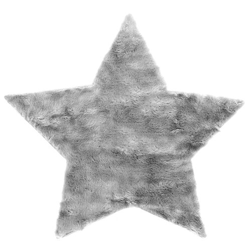 Petite étoile Gris Clair - Maxi Douceur