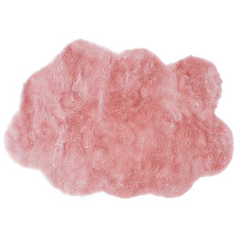 Petit Tapis Nuage Rose Poudré - Maxi Douceur