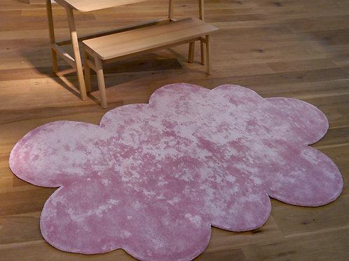 Tapis nuage rose petit