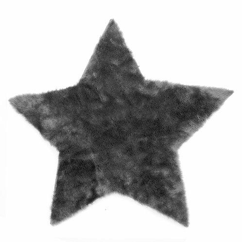 Grande étoile Gris Foncé