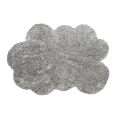 Tapis Grand nuage gris clair