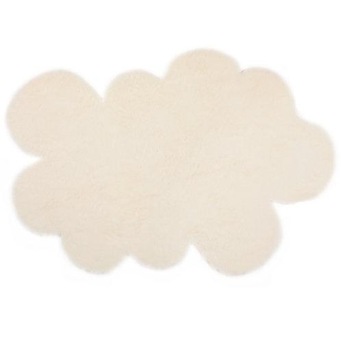 Tapis nuage blanc petit