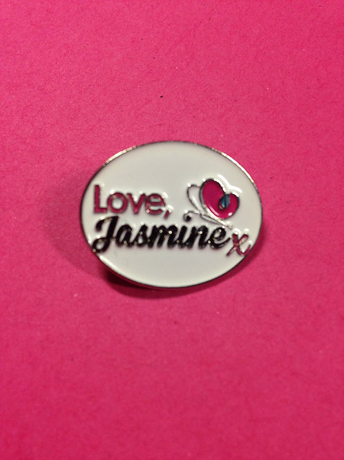 Love, Jasmine Pin Badge