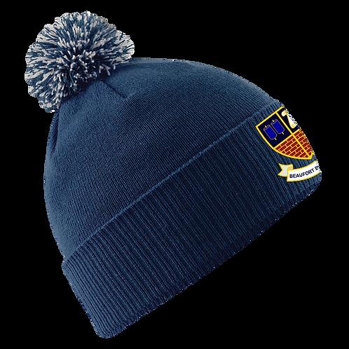 BBC Classic Pro Navy Bobble Hat