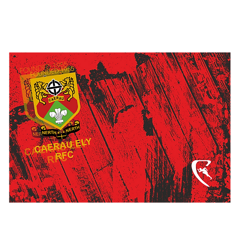 CERFC Pro Sublimated Team Beach Towel