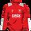 Thumbnail: SWGK Classic Pro Red Snood Neck Midlayer