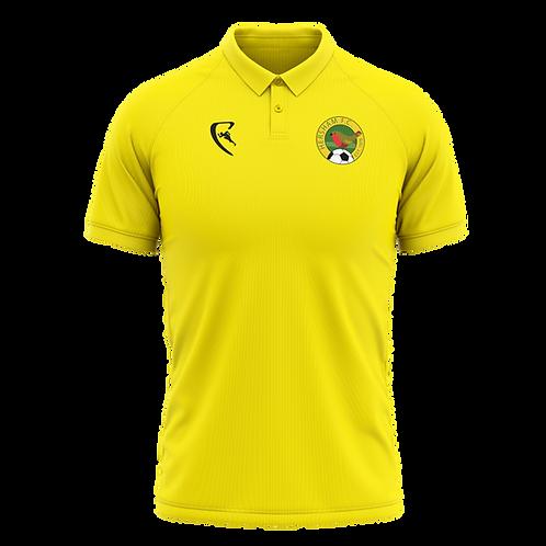 HFC Classic Yellow Polo Shirt