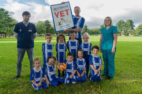 Cardiff Bluebirds FC Match Kit