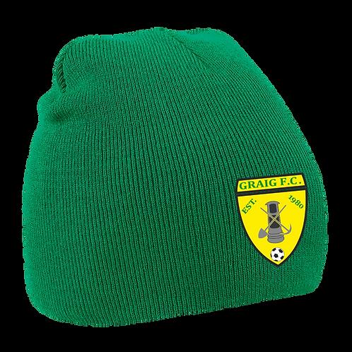 GFC Pro Elite Beanie (Green)