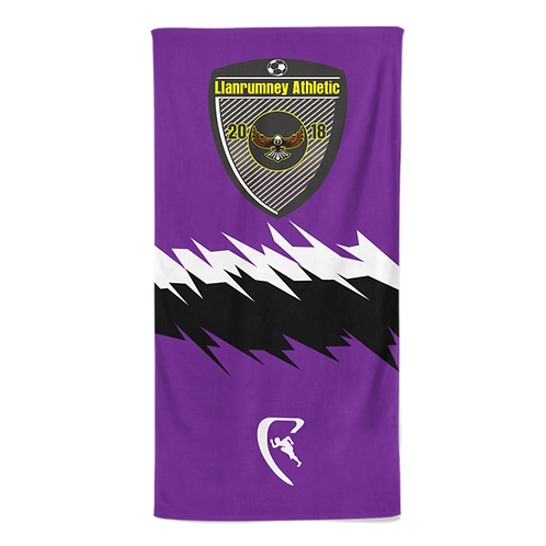 LAFC Classic Sublimated Beach Towel
