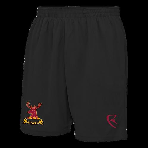 PBC Pro Elite Travel Shorts (Black)
