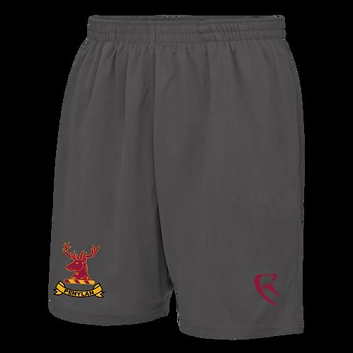 PBC Pro Elite Travel Shorts (Grey)
