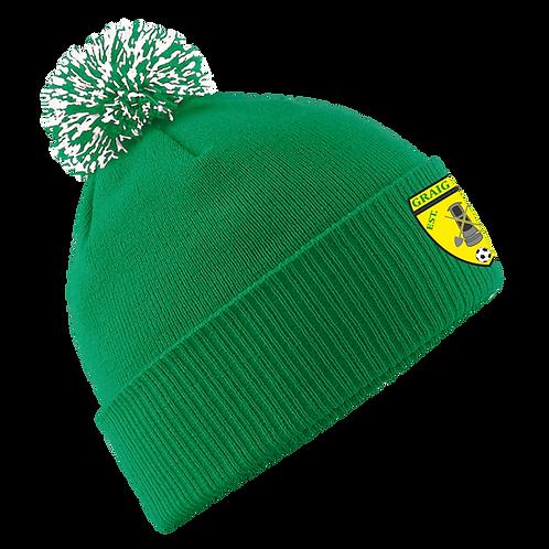 GFC Pro Elite Bobble Hat (Green)