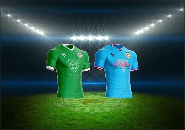 Caerphilly Athletic FC Club Shop Banner.