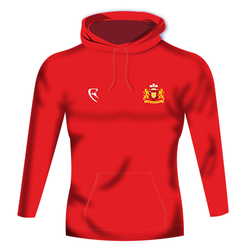 FRFC Pro One Colour Hoodie (Red)