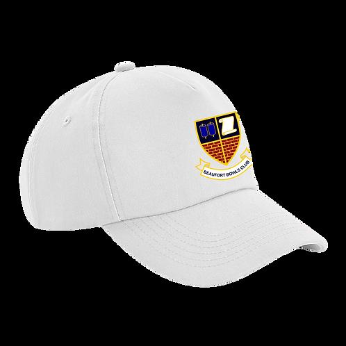 BBC Classic Pro White Sports Cap