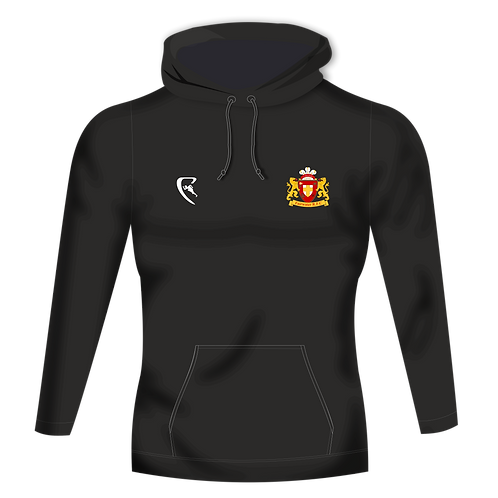 FRFC Pro One Colour Hoodie (Black)