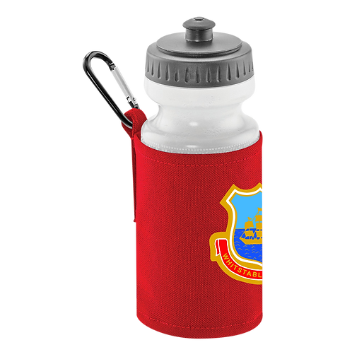 WTFC Classic Water Bottle & Clip On Holder