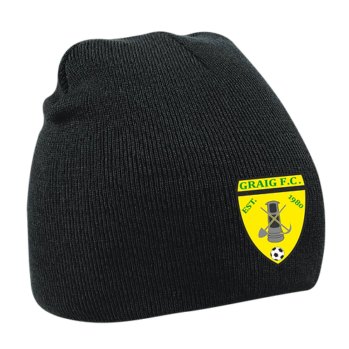 GFC Pro Elite Beanie (Black)