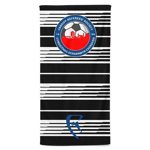 CRS Classic Sublimated Beach Towel