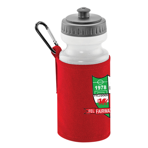 FFC Classic Water Bottle & Clip On Holder