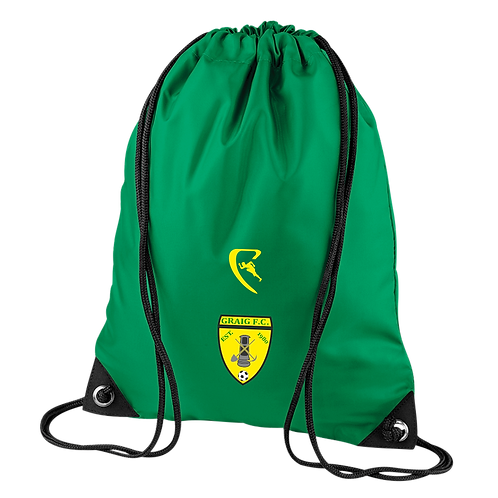 GFC Pro Elite Drawstring Bag (Green)