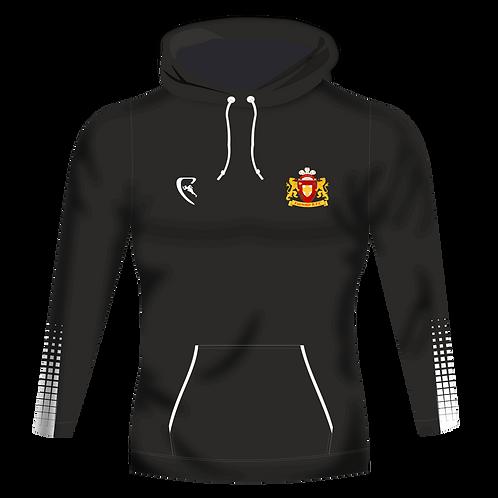 FRFC Pro Elite Tech Hoodie (Black/White)