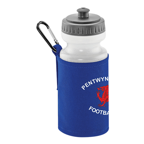 PDFC Classic Water Bottle & Clip On Holder