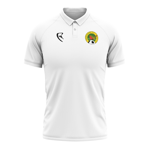 HFC Classic White Polo Shirt