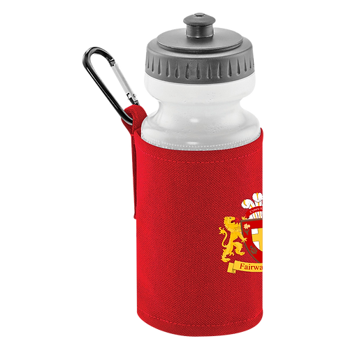 FRFC Classic Water Bottle & Clip On Holder