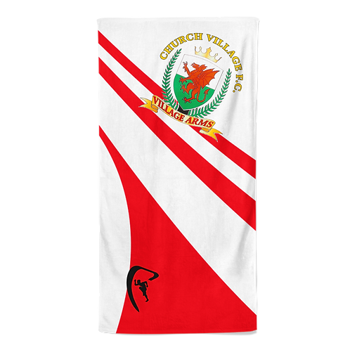 CV Classic Sublimated Beach Towel