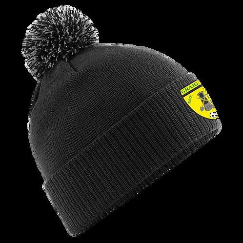 GFC Pro Elite Bobble Hat (Black)