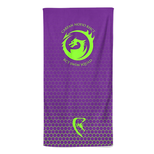 RCT Classic Sublimated Beach Towel