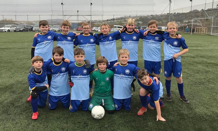 South Gower Football Club Team Photo