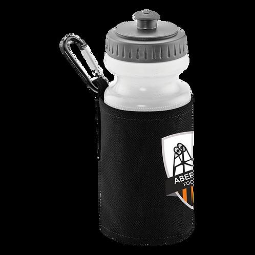 AVFC Classic Water Bottle & Clip On Holder