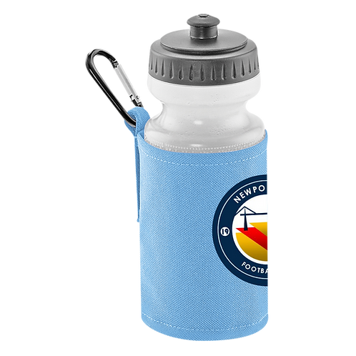 NCFC Classic Water Bottle & Clip On Holder